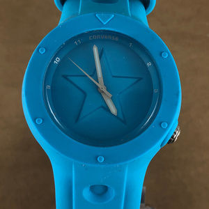 Sky Blue Converse Watch Adjustable Strap